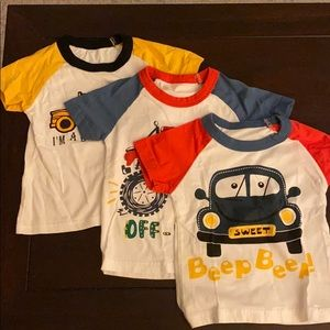 Other - Toddler Boy's Car & Truck T-Shirts - Set of 3